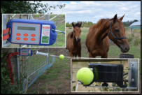 BattLatch with retractable gate kit for horses